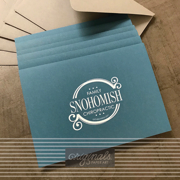 Snohomish Family Chiropractic note cards