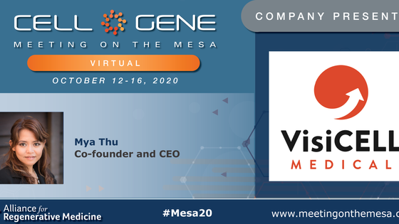 VisiCELL is presenting at 2020 Cell and Gene Meeting on the Mesa