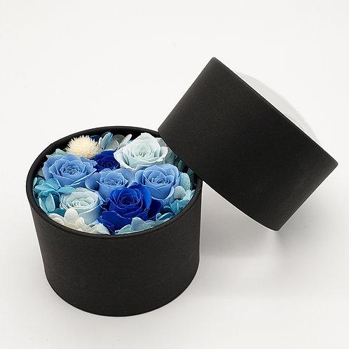 ドームボックスフラワー ブルー【送料無料】
