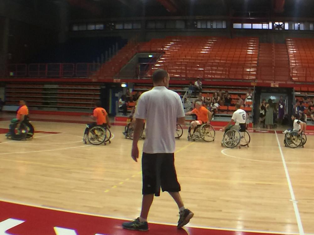 משחק ראווה - מרכז הספורט לנכים בראשון לציון במסגרת ערב הגמר עונת 2016