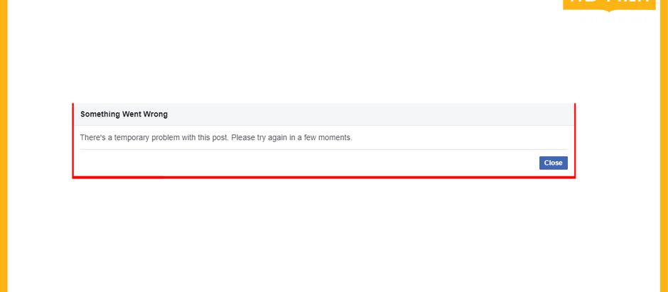 מבזק: דיווח- תקלה עולמית בפייסבוק בשעה האחרונה לא מצליחים לעשות לייק להגיב להעלות או לערוך פוסטים
