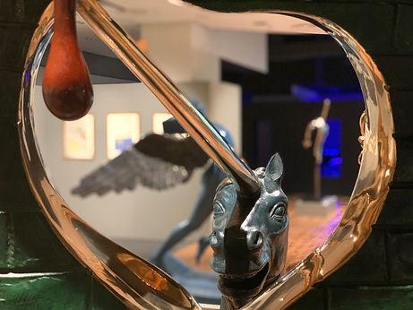חד-קרן   תערוכת דאלי ארנה הרצליה