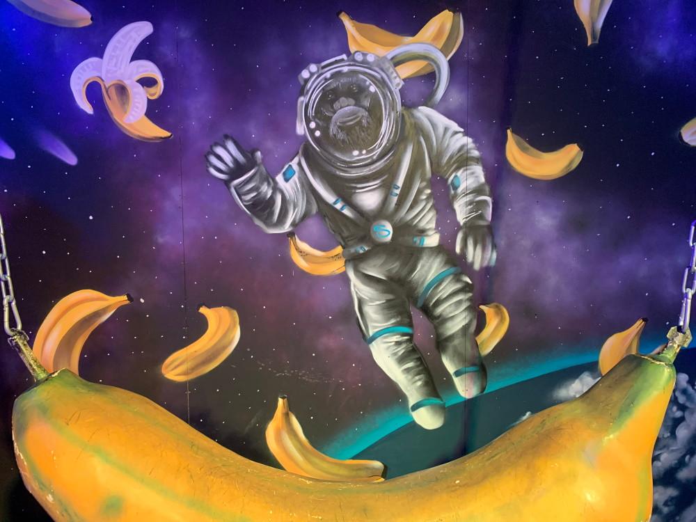 בננת על חלל