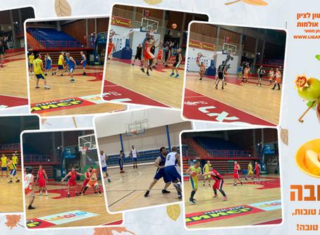 ברכת שנה טובה - ליגת ראשון לציון בכדורסל אולמות