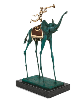 פסל אדם על פיל לשקוף לירון R.png