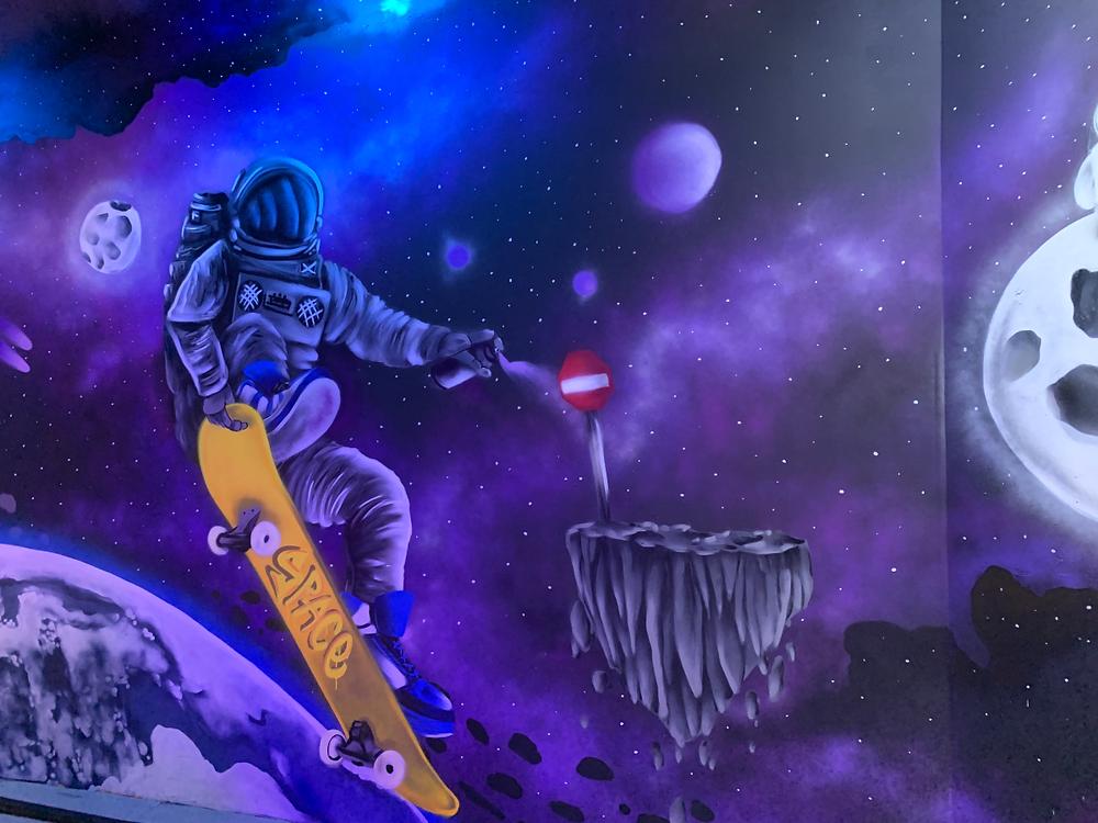 גרפיטי חלל, קיר מיוחד שצייר בגרפיטי ITAY STYLE