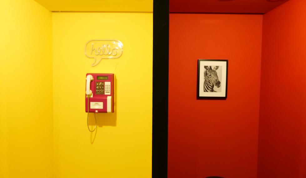 פעם היינו מתקשרים - ספייס פנטזי מוזאון הסלפי