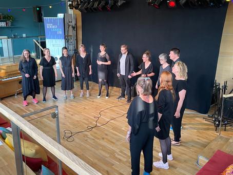 Koncert på Folkestedet 2.9.