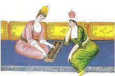 18.YY.Istanbul'da Mangala oynayan iki ka