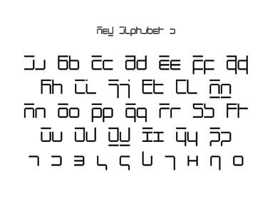 Wim Crouwel, New Alphabet