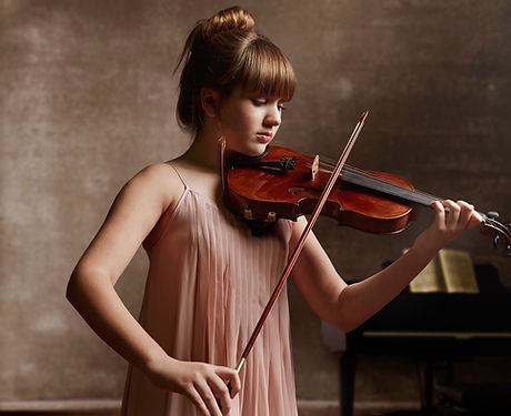 Músico violinista