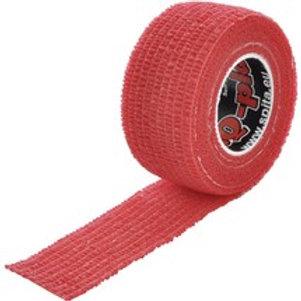 ResQ-Plast selbstklebender Verband rot, 25 mm breit