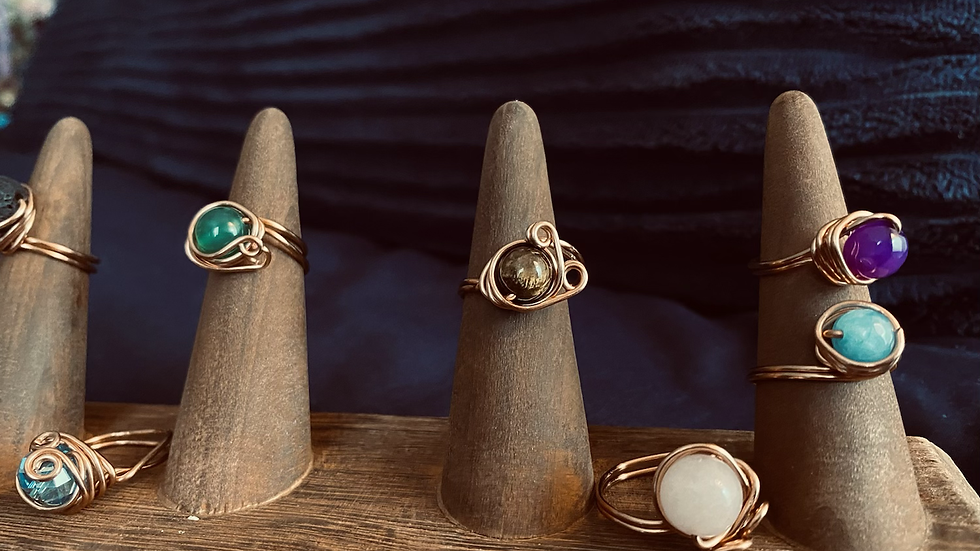 'Wrapped In Prayer' Ring