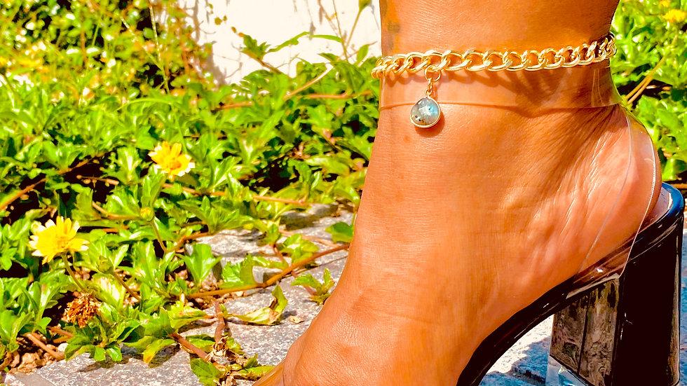 """Cuban Charm"" anklet"