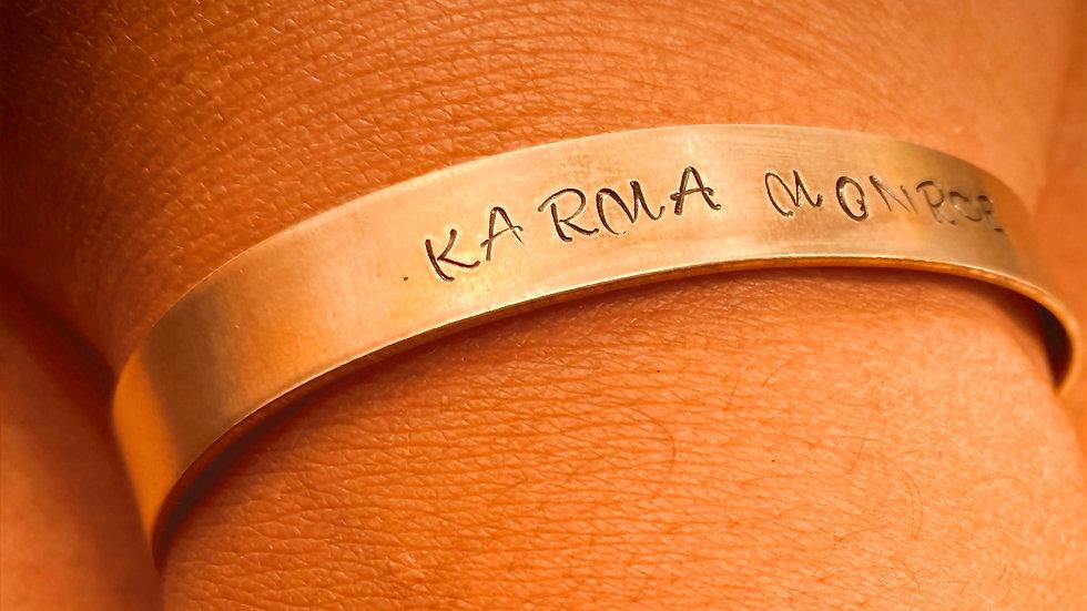 Custom Metal Name Bracelets
