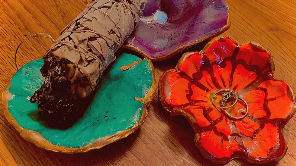 'Trinket' Sage Plates