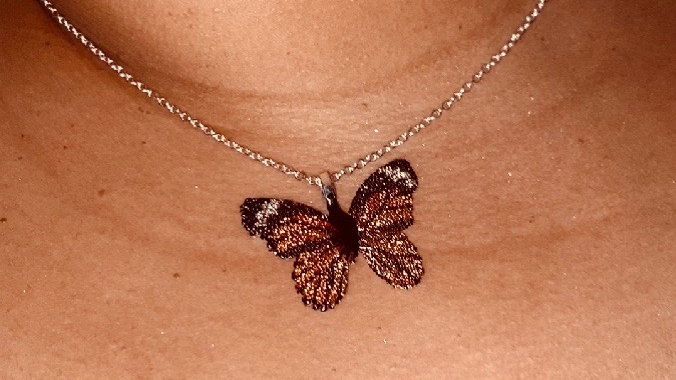 """""""Be Fly"""" Butterfly Necklace"""