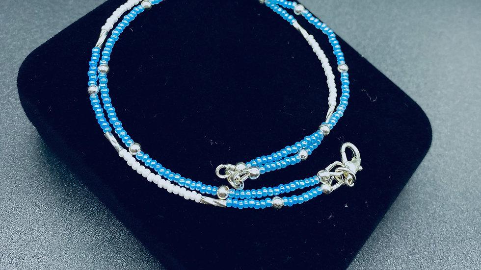 """""""Blue Brooks""""Anklet"""