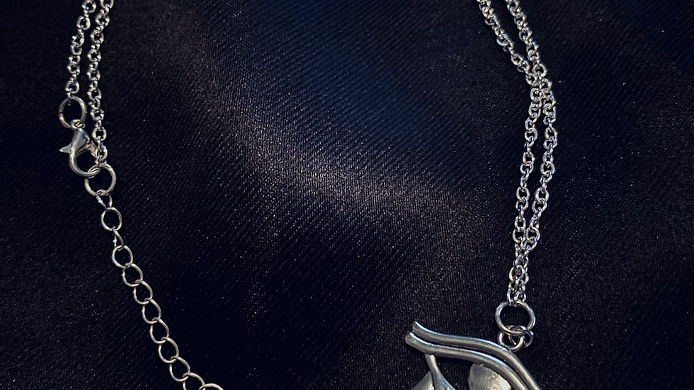 """""""Ra's Eye"""" Chain Necklace"""