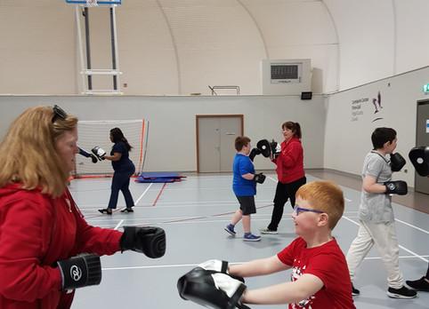 Junior fitness Gravity autism support Swords