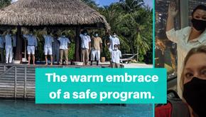 The warm embrace of a safe program
