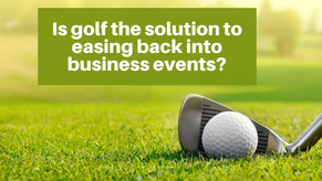 Is golf the solution to post-COVID business?