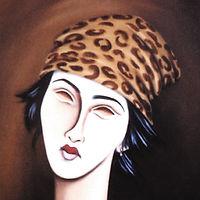 portrait by Alfred Hilton
