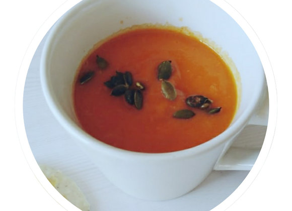 Roast Butternut and Tomato Soup