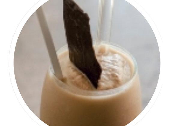 Iced vanilla & chocolate shear