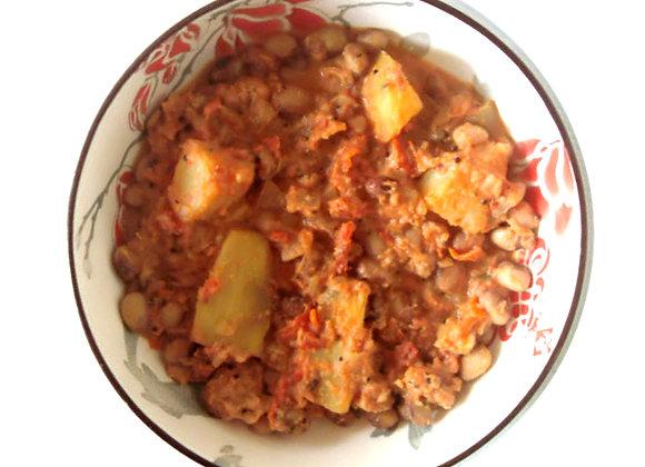 Butter Bean & Roast Butternut Stew