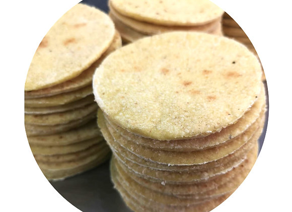 Bread Rounds 15s - yellow millet & rice flour