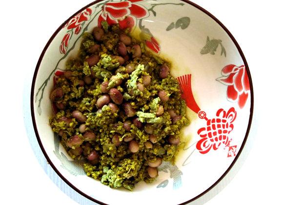 Sugar Bean, Basil Pesto & Millet Bake