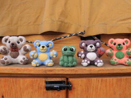 Linnae's Needle Felted Critters