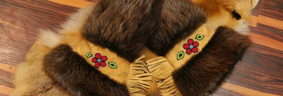 Handmade Traditional Beaver Mits