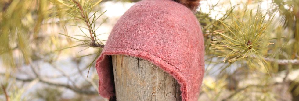 Felted Alpaca Baby Hat
