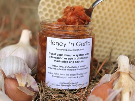Honey 'n garlic
