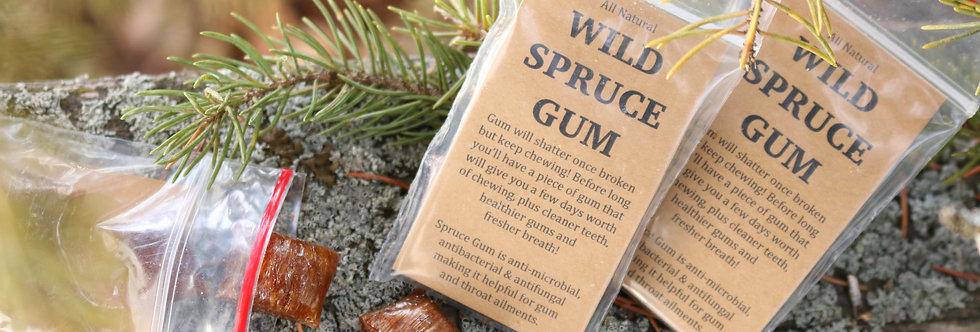 Wild Spruce Chewing Gum