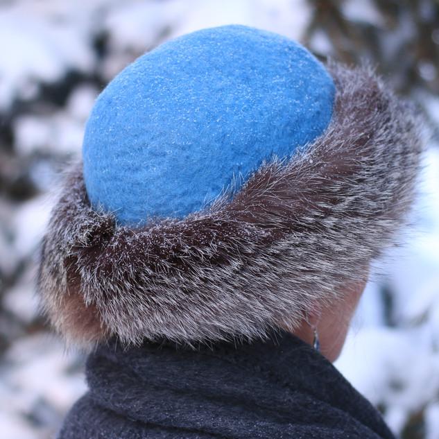 hat, back
