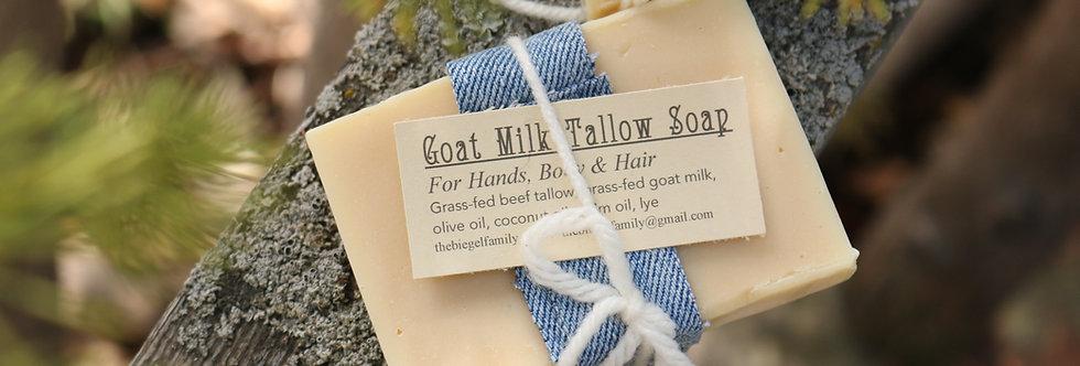Goat Milk Tallow Soap