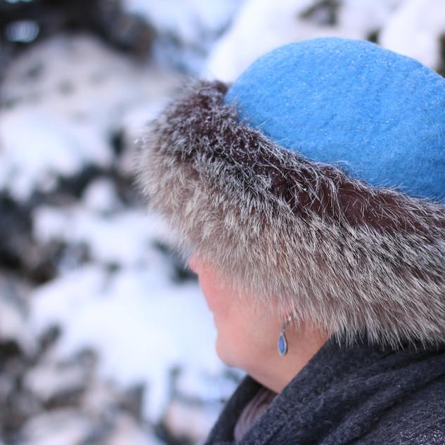 hat, side
