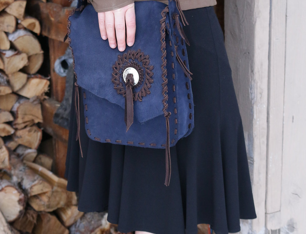 "Leather Bag ""Kate"""