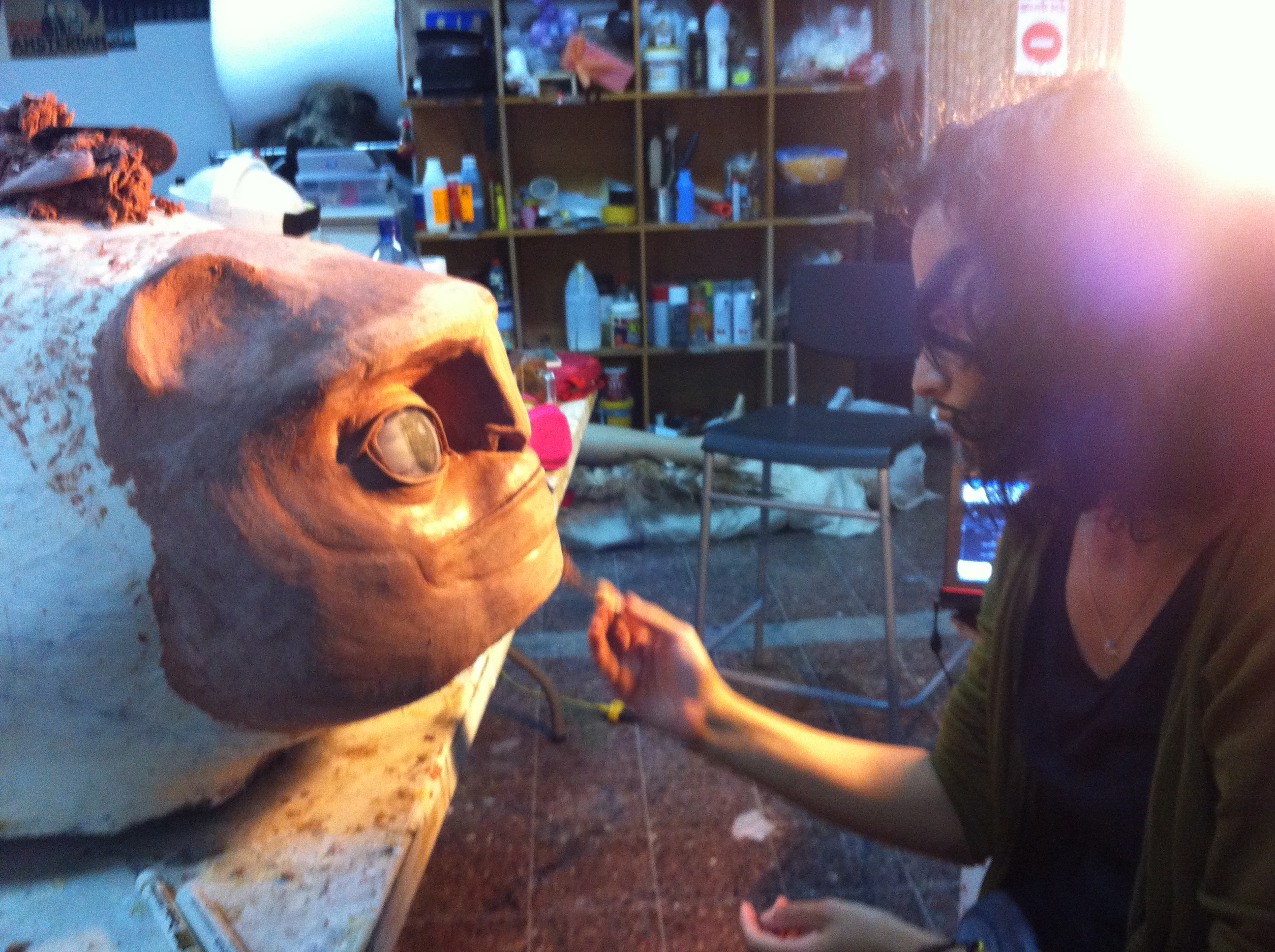 sculpting Abulele