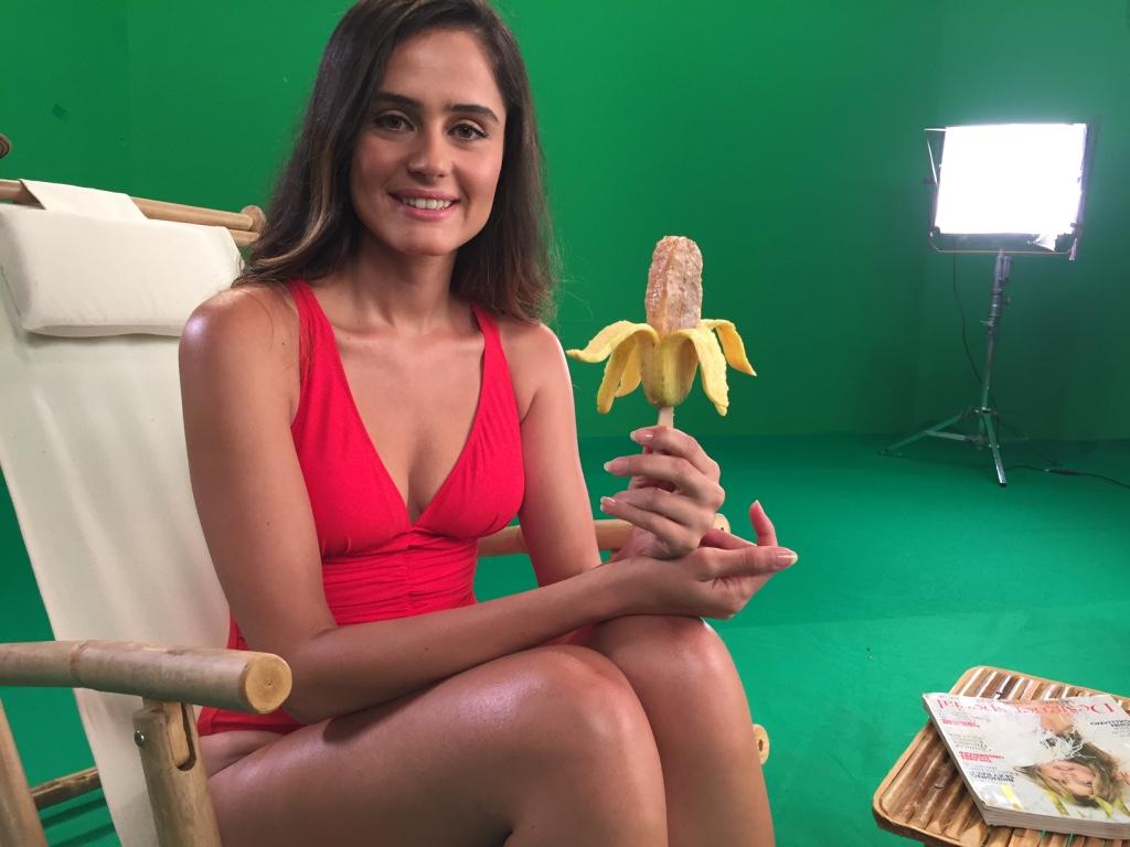 la fruta on set