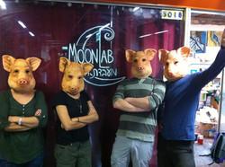 Pig masks
