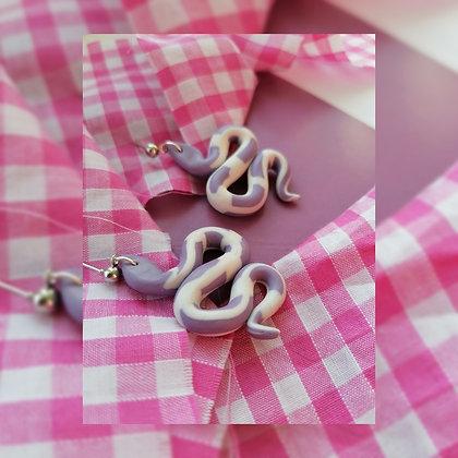 Lilac Check - Snake