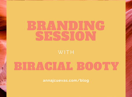 Branding Session with Biracial Booty | Burlington, Massachusetts