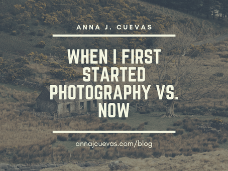 When I First Started Photography vs. Now