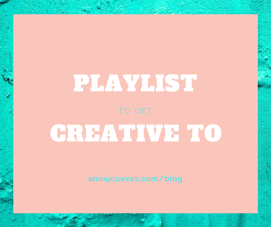 playlist to get creative to