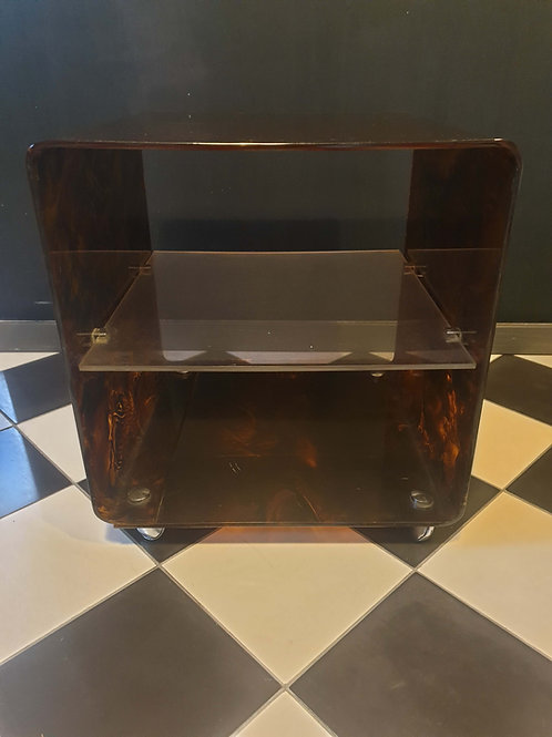 Table basse en plexiglas