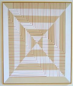 Addition l, 100 x 120 cm, framed